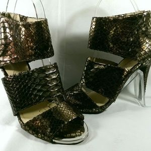 JESSICA SIMPSON ELSBETH WOMAN'S SYNTHETIC SNAKE 6M